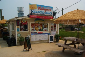 Waterfront Seafood Shack, NC