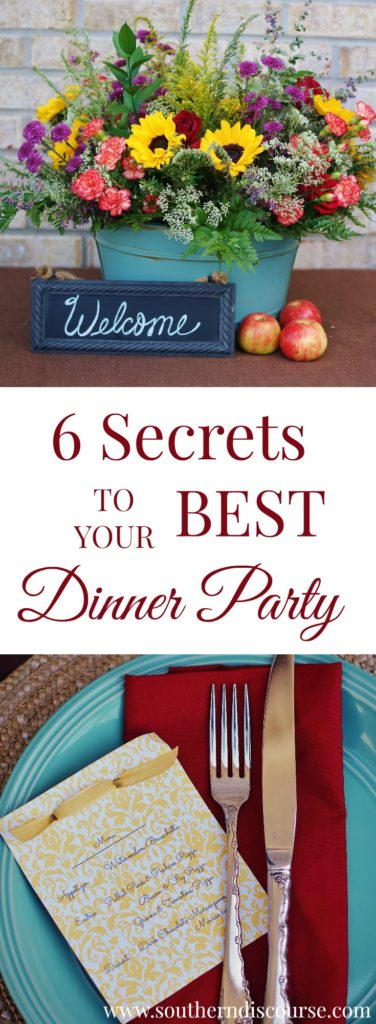 6 secrets that make hosting a fabulous dinner party so much easier than you thought.