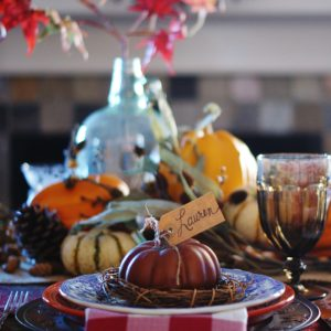 The Thanksgiving Table:  Ambiance, Hospitality, & Food