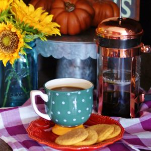A fall mug, seasonal treats, and coffee creamers are all sure ways to get ready for autumn.
