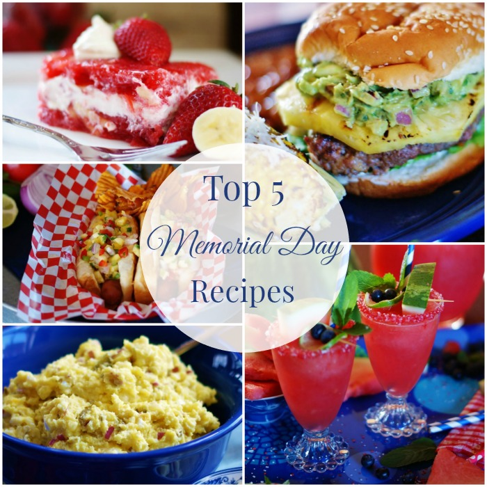 ASD's Top 5 Memorial Day Cookout Recipes